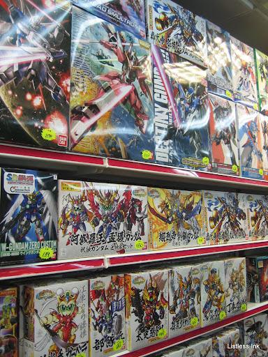Taipei Underground Mall 台北地下街 Gundam