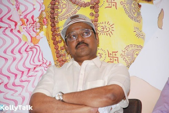 Bhagyaraj, the director and producer of the movie at Siddhu Plus 2 Press Meet