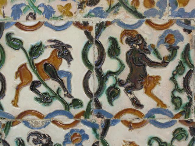 Spanish tiles in Seville