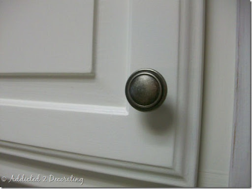 kitchen knobs espresso table set change your cabinet hardware from pulls to handles addicted 2 j and a pewter door knob