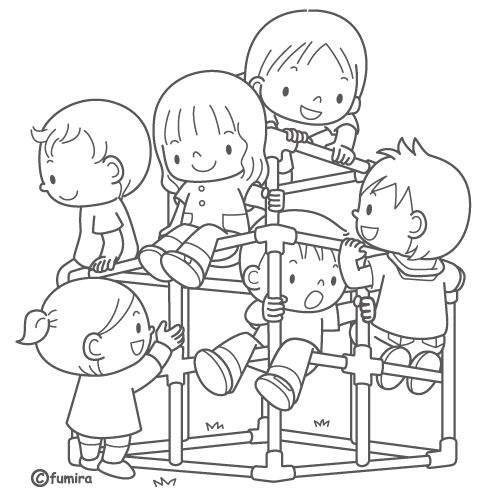 Coloring Playground Safety Coloring Sheets Coloring Pages