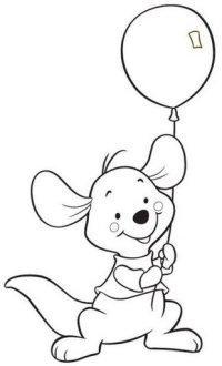 Imagenes De Winnie Pooh Y Sus Amigos Bebes Para Colorear Bebe