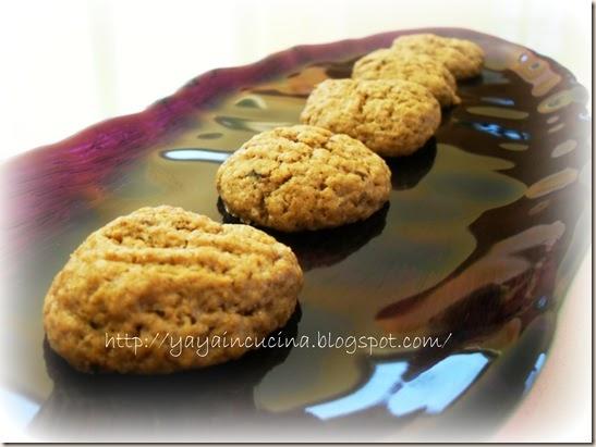 Yaya in cucina Biscotti cacao e caff