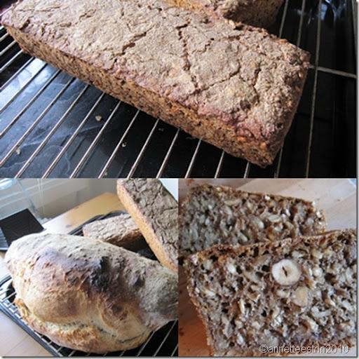 rugbrød og hvedebrød