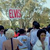 I was honestly shocked by the shear amount of Elvis' there were, apparently there's this big of group every year.
