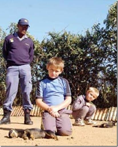Two SA kids mourn poisoned dogs VdBijlParkApr182009