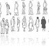 Personas Bloques 2D Descarga AutoCAD