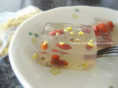 清涼消暑石花凍 @ Poplars' Kitchen: 花廚物語 :: 痞客邦