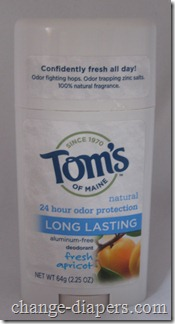 Tom's of Maine Deodorant