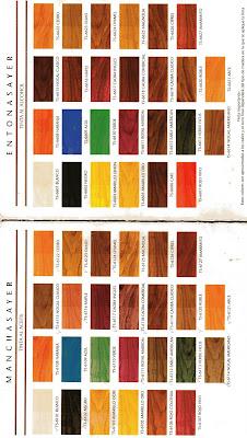Muestrario de colores sayerlack mundo for Muestrario de colores