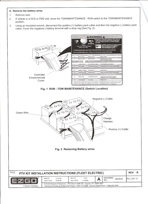 small resolution of i just installed a freedom light kit on my 2004 ezgo pds and figured i would upload the instructions for hooking it all up that came with it