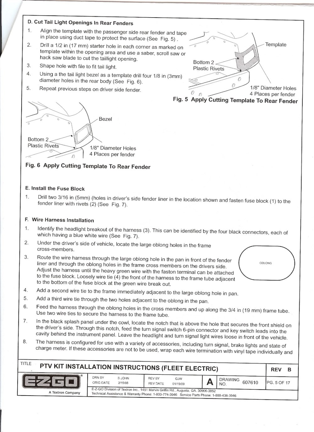 medium resolution of re ezgo freedom light kit installation instructions