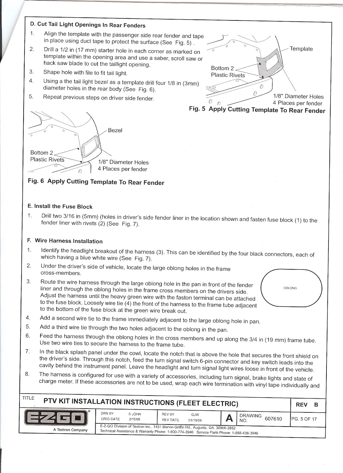 hight resolution of re ezgo freedom light kit installation instructions