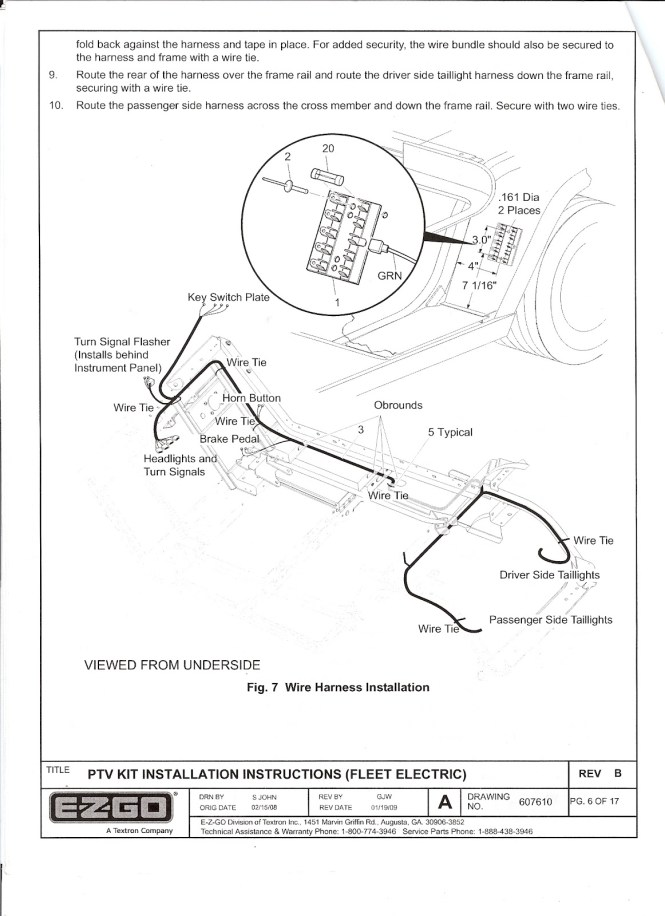Wiring Diagram For Ez Go Textron 27647 G01 – powerkingco