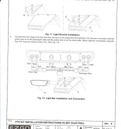 re ezgo freedom light kit installation instructions [ 1162 x 1600 Pixel ]