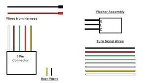 Wiring a 8 Wire Turn Signal w Horn