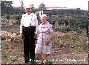 Mes grands-parents en 1976