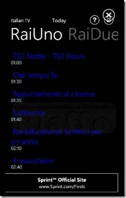 programmi tv italia