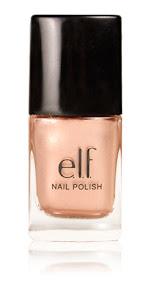 elf cosmetics spring nail polish in blush