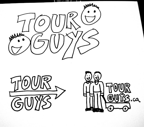Tour Guys Logo Concepts