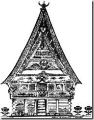 Rumah Adat Karo Vector : rumah, vector, Rumah, 1080p, Batak, Vector