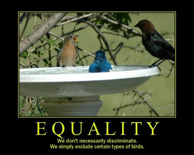 equality motivational poster