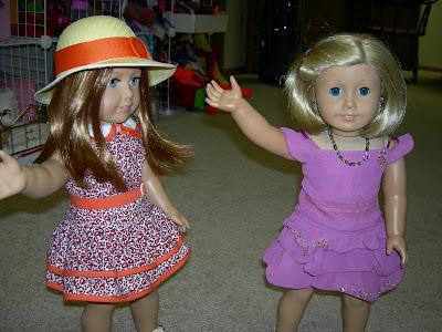 Kat modeling her tea party dress!!!!!