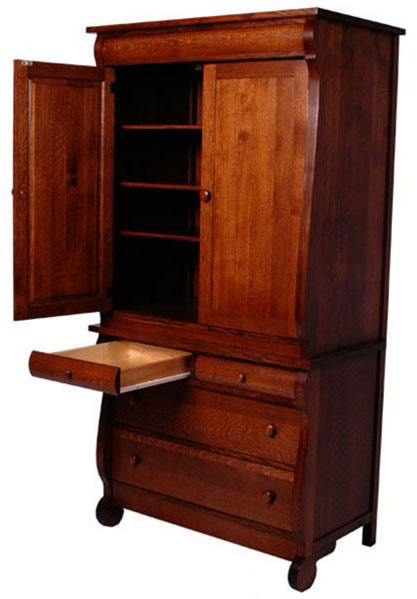 Classic Armoire Dressers  Solid Wood Dresser in the Classic Style