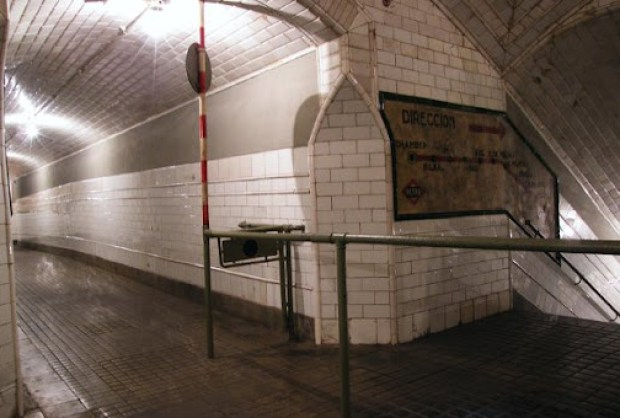 Estación fantasma de Madrid