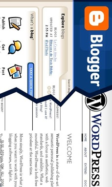 Cara membuat blog - Blogger vs WordPress