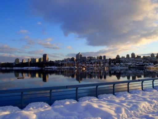 False Creek, Vancouver Christmas Day