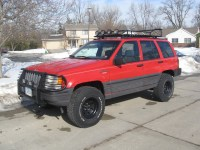 Homemade ZJ Roof Racks Let's See 'Em - JeepForum.com