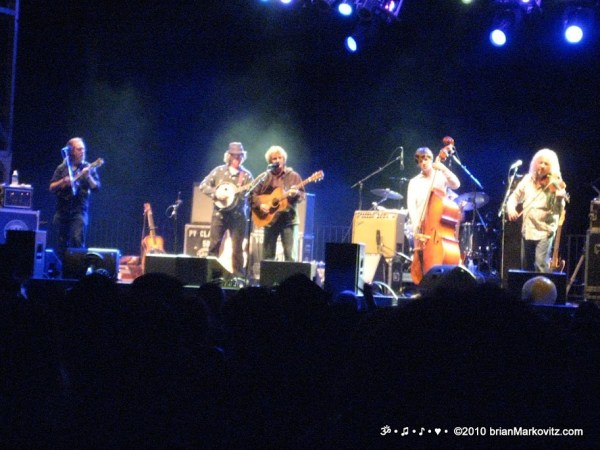 Railroad Earth at High Sierra Music Festival, Late Night, 2010