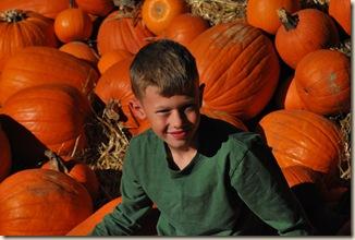 JB in pumpkins
