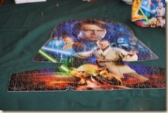 Jan 28 Star Wars puzzle done