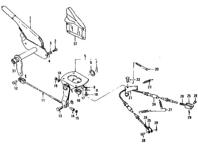Datsun 240Z/260Z/280Z Hand Brake & Hand Brake Cable