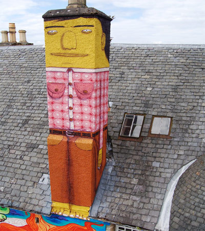 Painted Chimney