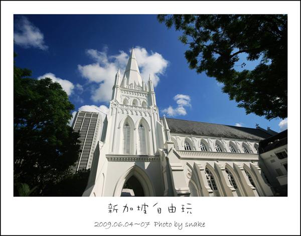 新加坡第二日。聖安德烈教堂 @ snake。影像盒子 :: 痞客邦