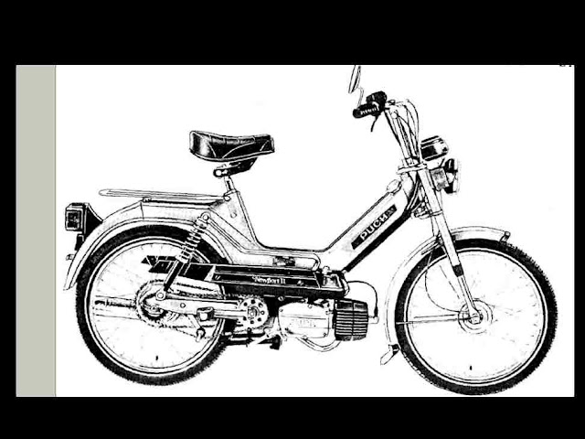 PUCH SCOOTER SERVICE & PARTS MANUALs 250pg w/ Maxi Sport