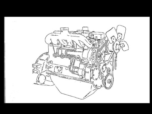 WHITE ENGINE 3 4 & 6 Cylinder HERCULES D Engine Manual for