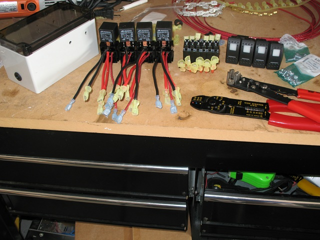 Jkownerscom Jeep Wrangler Jk Forum Relay And Switch Box Install