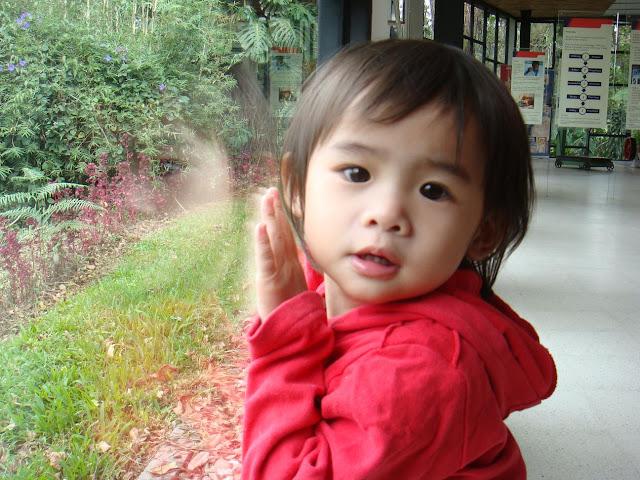 这就是我可爱的侄女~僮僮。