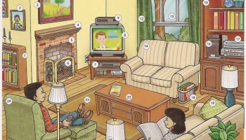Living Room Online Dictionary For Kids