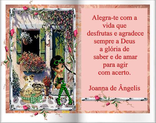 Mensagem De Joanna De Angelis / Divaldo Franco