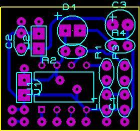 The signal amplifier board