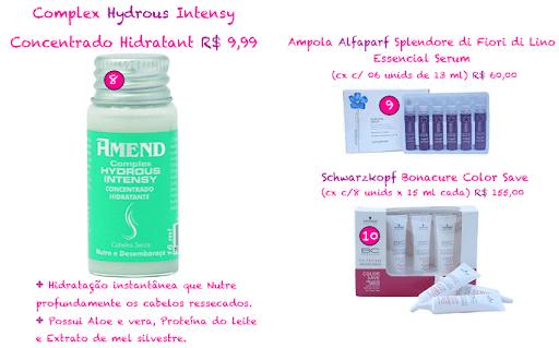 """complex%20hidrous - Ampolas """"S.O.S"""" para cabelos ressecados e danificados"""