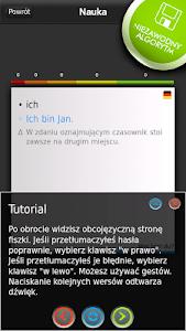 FISZKI Niemiecki Słownictwo 1 screenshot 2