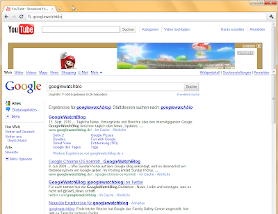 Google Chrome Instant