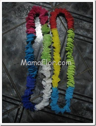Como hacer Collares para la Hora Loca  Manualidades MamaFlor