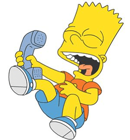 bart phone call
